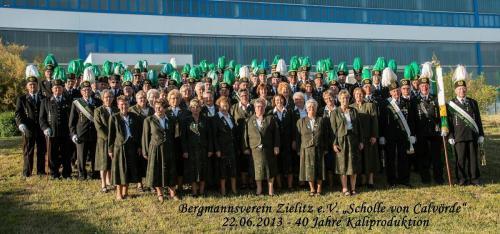 Bergmannsverein Zielitz e.V. Scholle von Calvörde